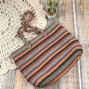 Rainbow Shopper Tote for Summer